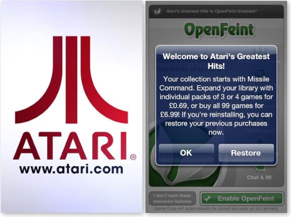 Atari Greatest Hits Offer
