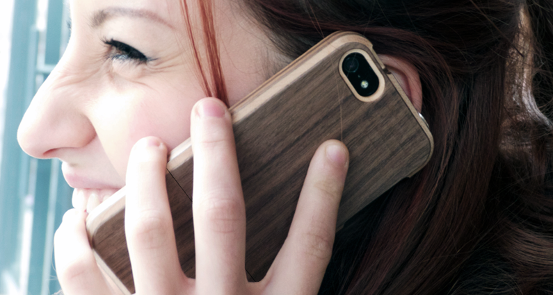 Slide 2.0 Wooden iPhone case.