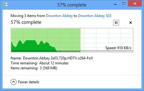 Windows 8 Slow File Copy