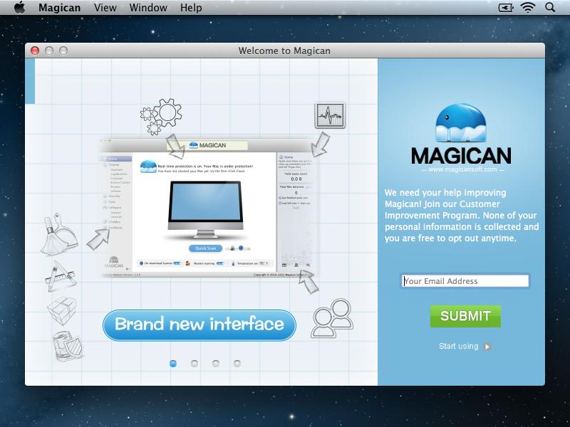 Magican Boot Screen