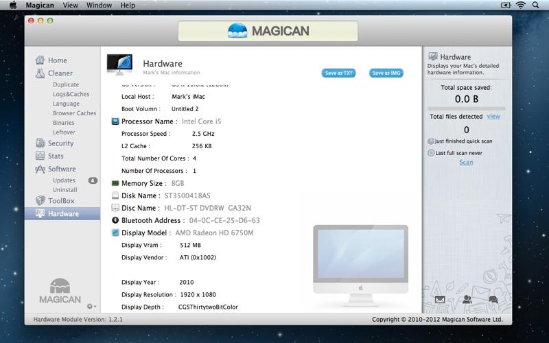 Magican Hardware