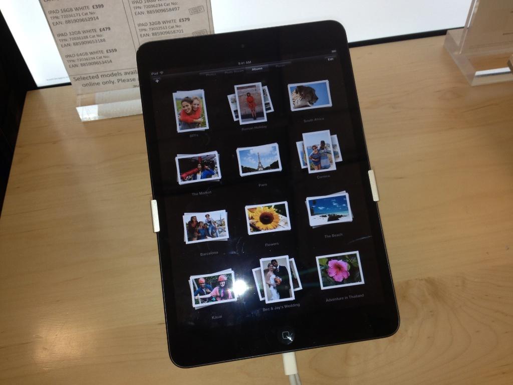 Tesco iPad Mini available