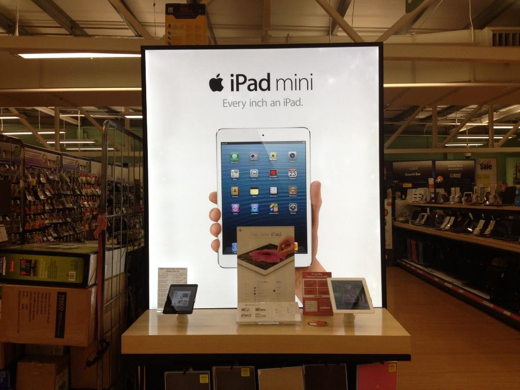 iPad Mini Arrives At Tesco