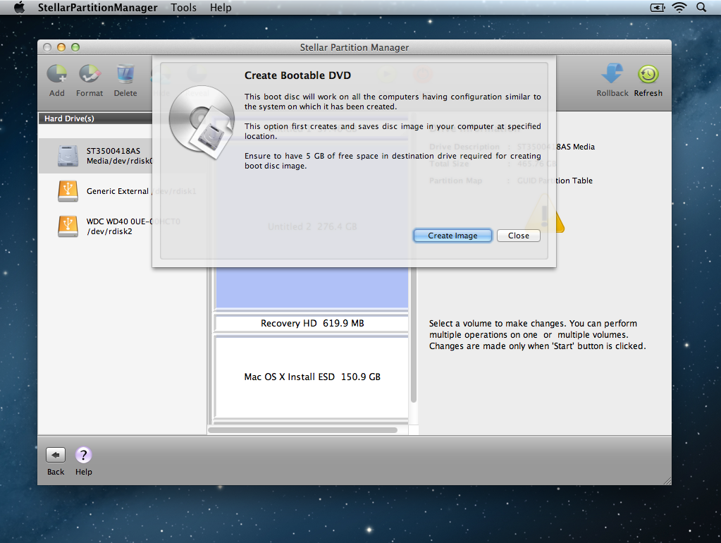 StellarPartitionManager Create Bootable DVD part 2