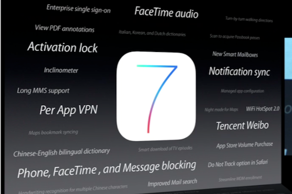 iOS 7 New Features