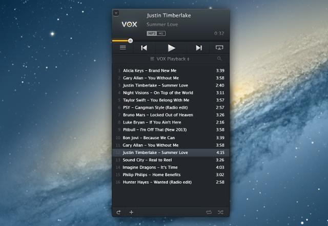 vox audio playlist