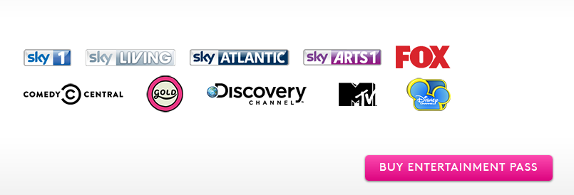 Sky Now TV Monthly Entertainment Pack