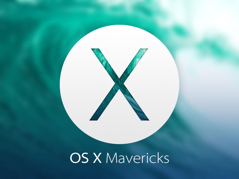 osx mavericks GM
