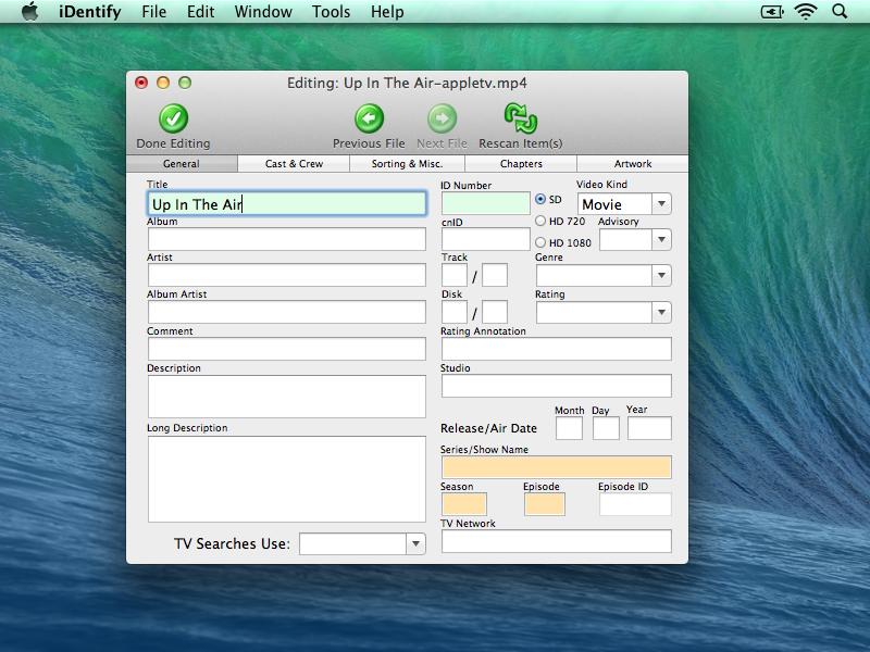 iDentify Editing Step 2