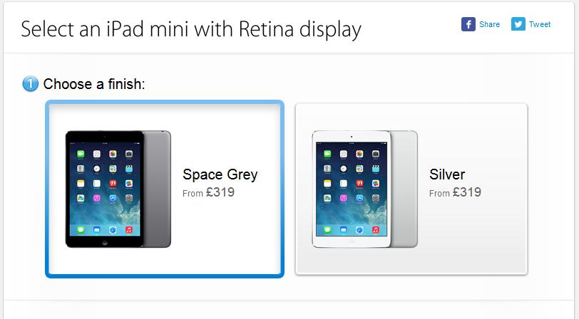 iPad mini retina On Sale
