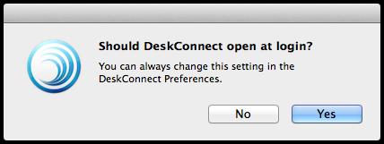 Deskconnect Open At Login