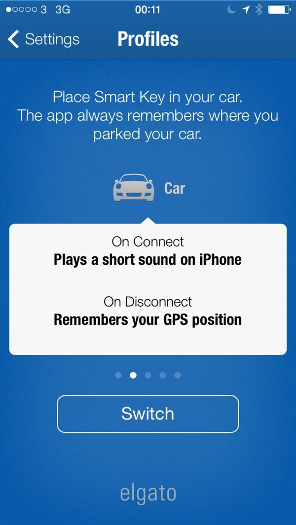 Elgato Smart Key Profile Car