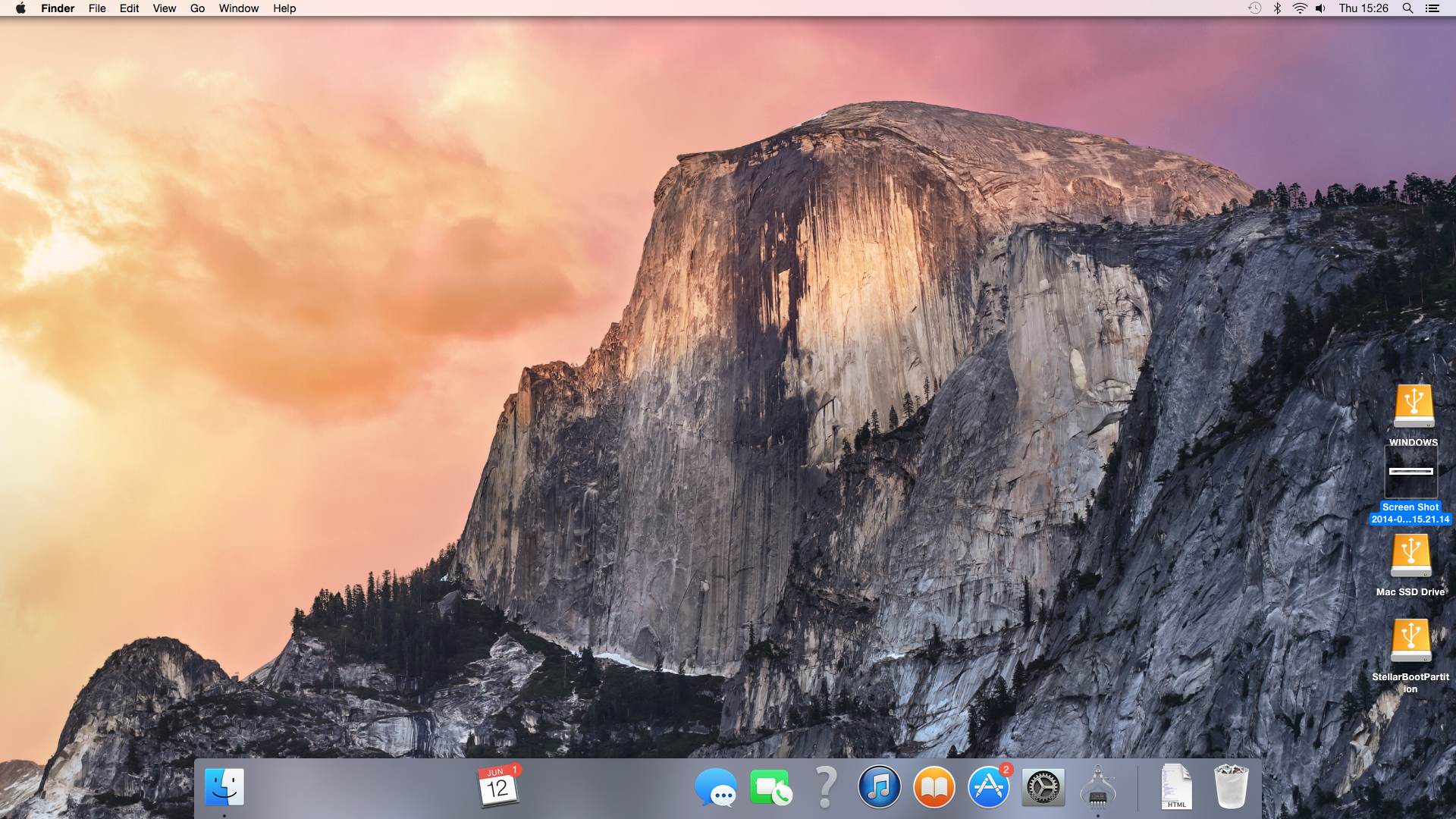 OS X Yosemite Missing Dock Items