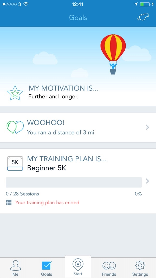 RunKeeper Motivation