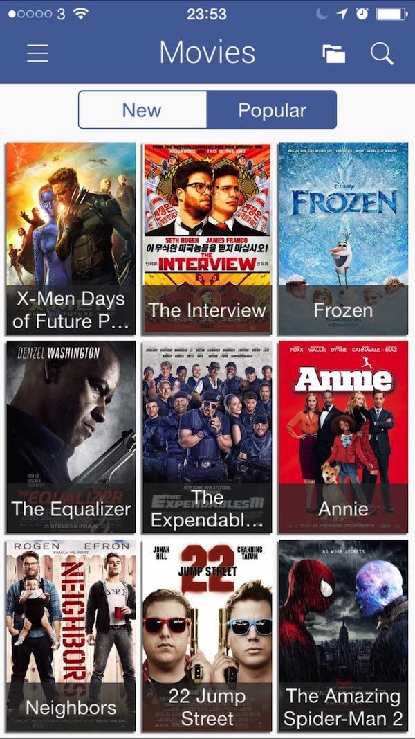 Popcorn Time Popular Movies