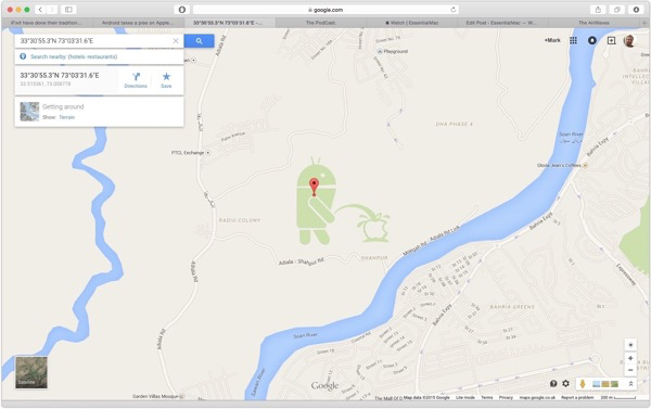 Google Takes a Piss On Apple