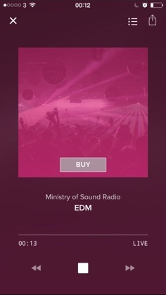 Ministry Of Sound Radio Now Playing