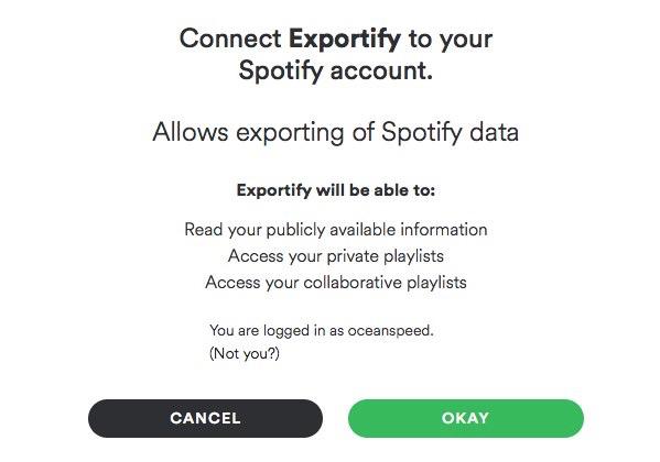 Exportify Website