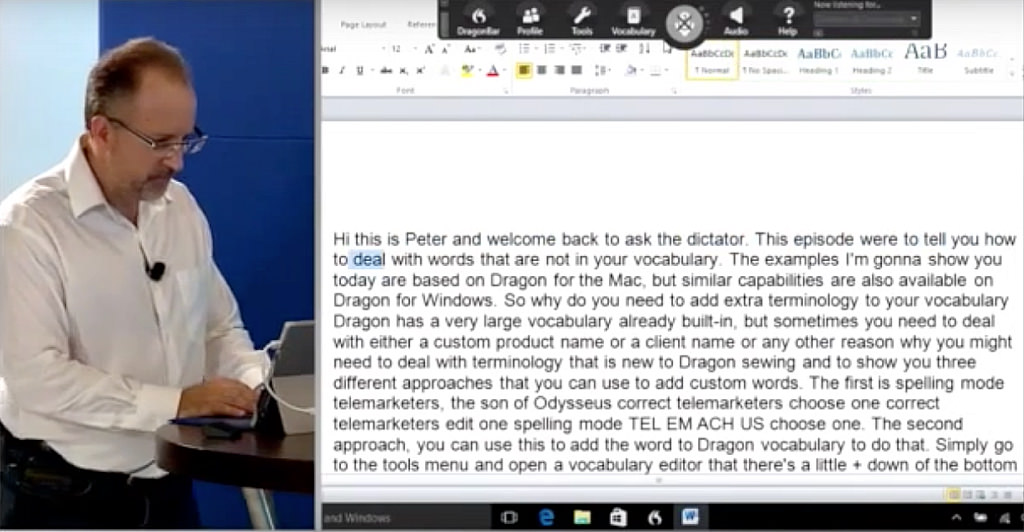 Dragon Transcription Training For Windows