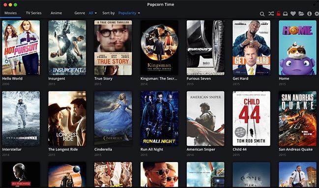 Porcorn Time Movie Set To hello world