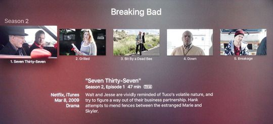 """Find the first episode of 'Breaking Bad,' Season 2."" And boom:"