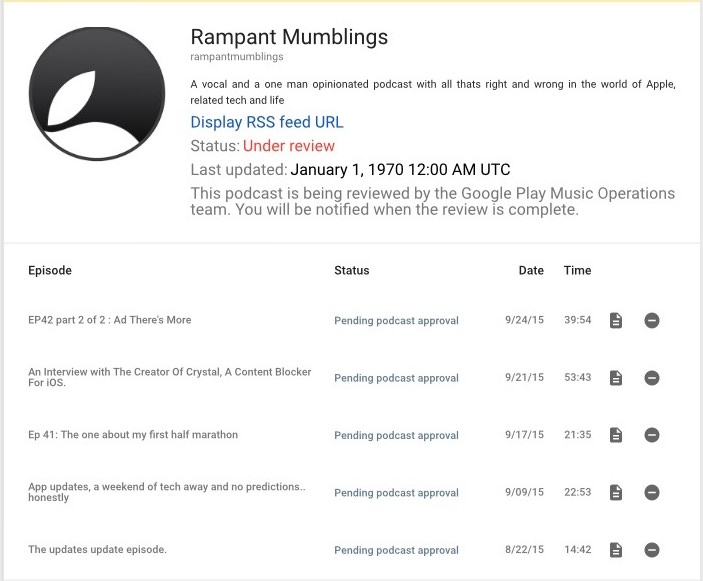 Podcasting With Google Play