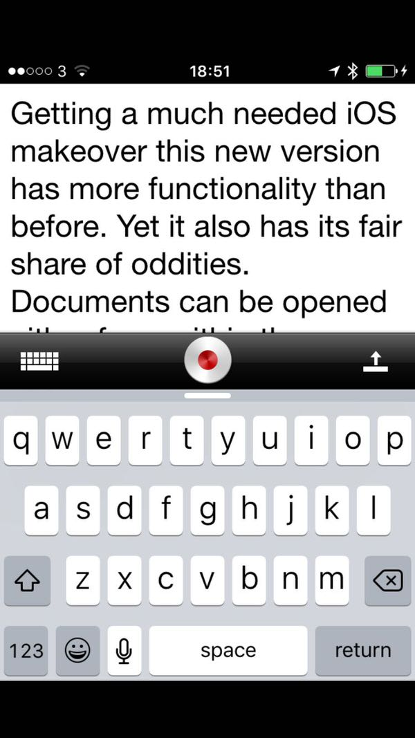 Dragon Dictate for iOS-1