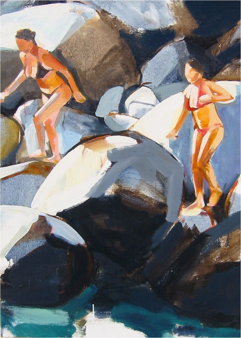 Mossman Gorge 90 x 70 cm oil on canvas 2005