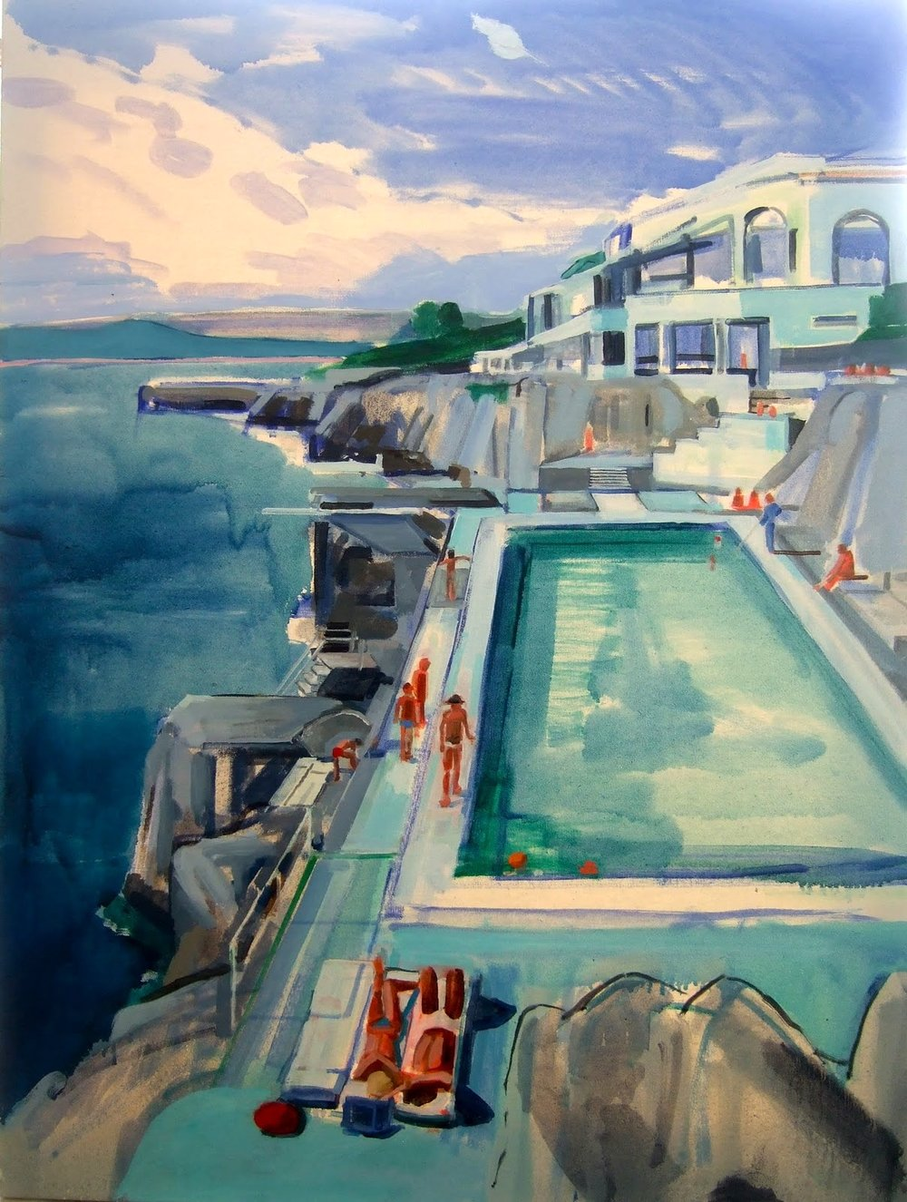 Amalfi 97 x 72cm oil on canvas 2011