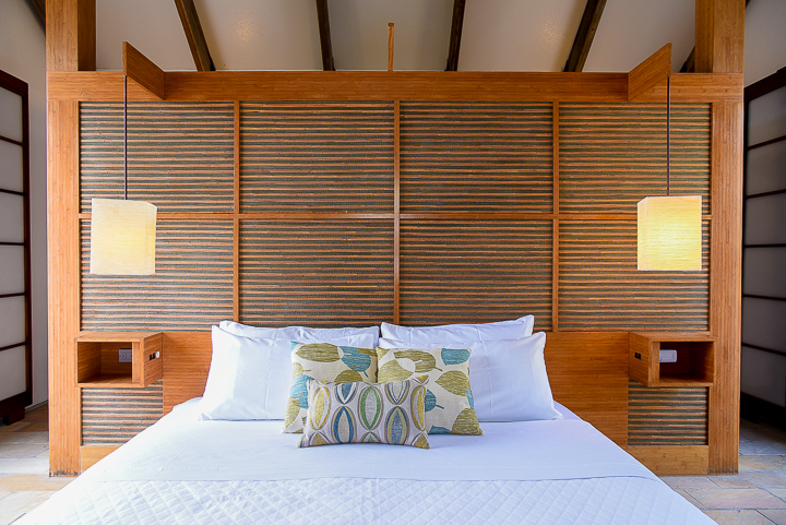 Guest Room 3 w bed-bamboo wall shot.jpg