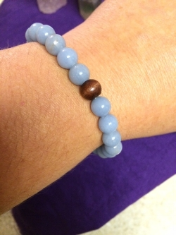 Angelite Crystal Essential Bracelet