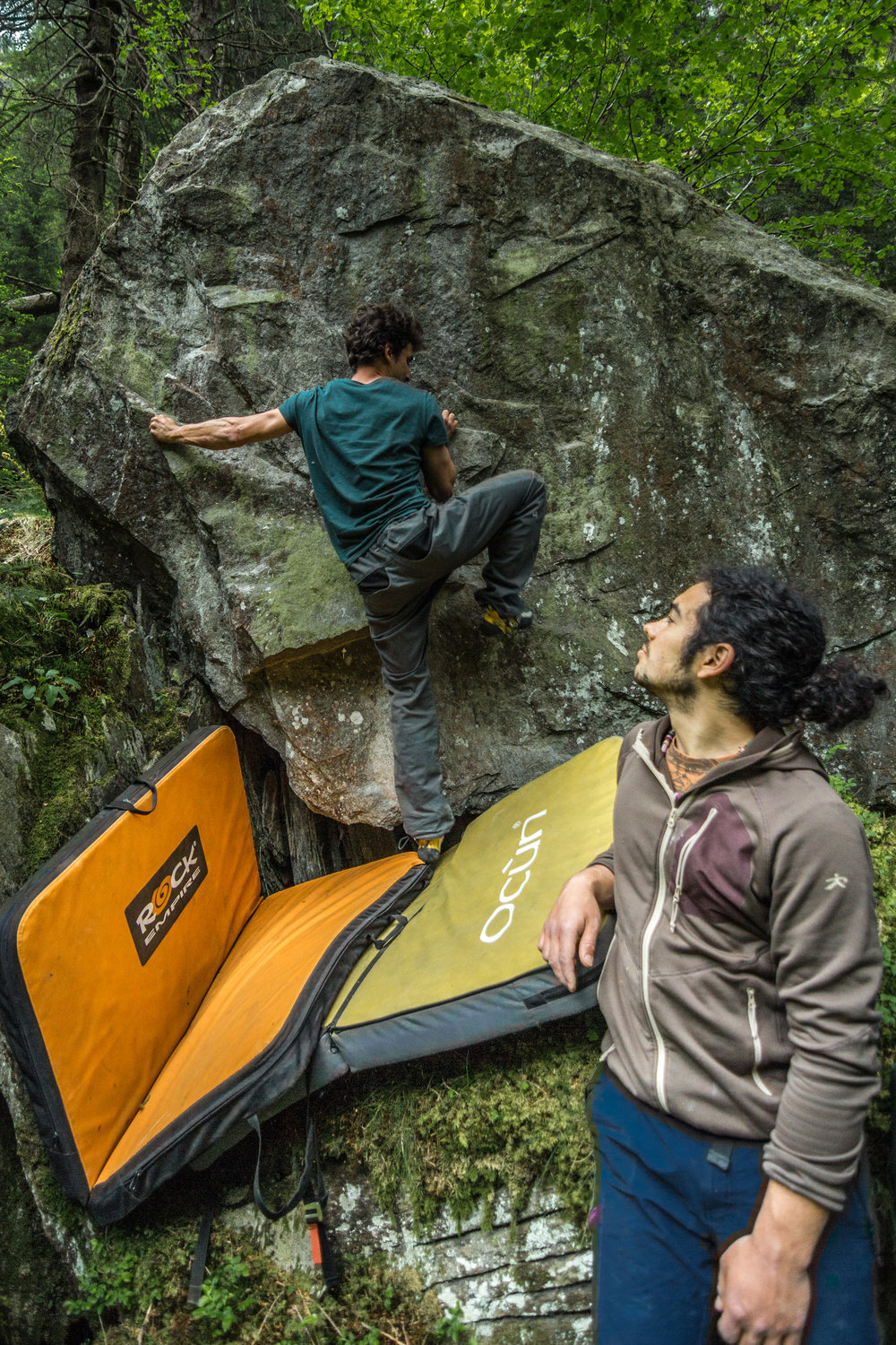 Bouldering in Switzerland