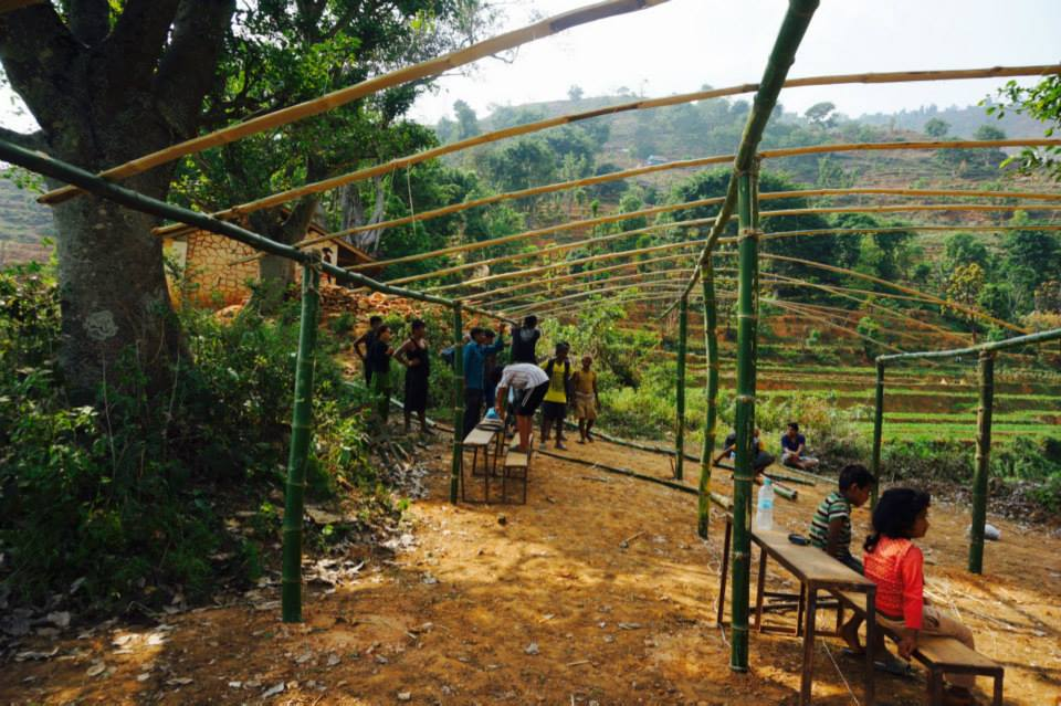 TLC Project Update - Khare Dhunga Ward 6, Dhading on 9th May 2015.