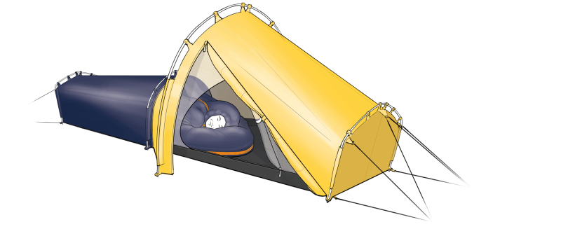 Polarmond All-in-One Tent