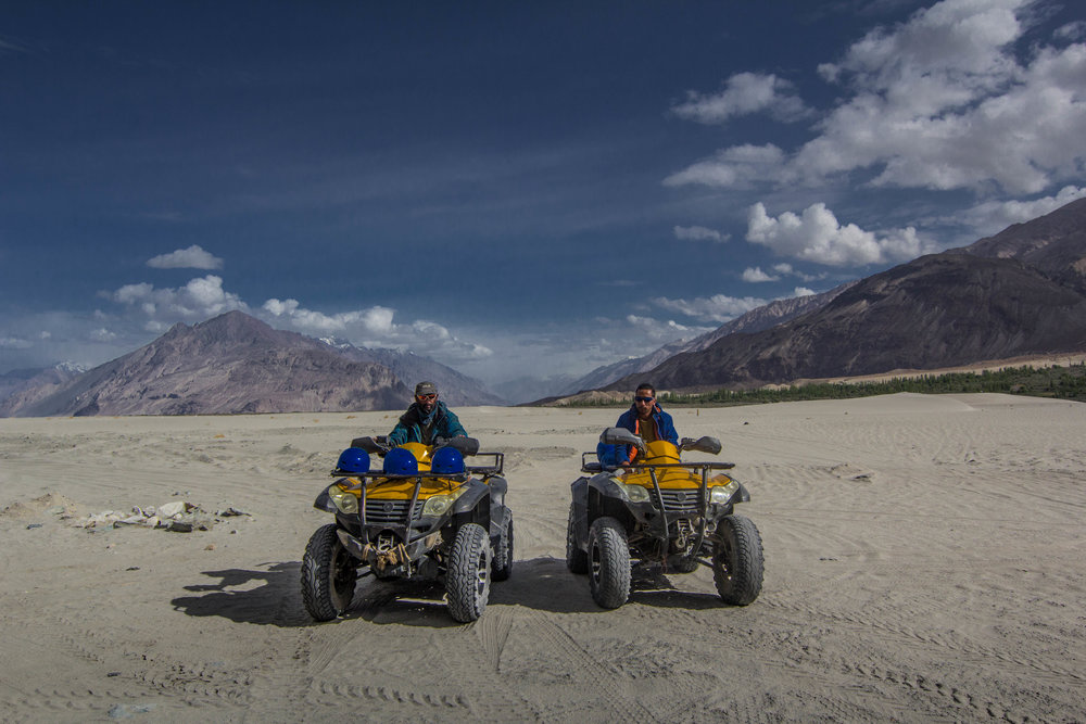 "Tourism in Leh and neighbouring regions is on the rise. Locals of this region run adventurous activities as a means to support their livelihood. Every shop in the main city of Leh offers a tour or package. ""Best adventure company.."" they all advertise."