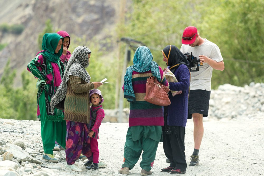 In remote regions of Ladakh, where transportation is on foot, villagers normally know the mail runners and receive their mail directly from the runners. In a way, the runner acts a foreigner bearing gifts and news who everybody awaits.