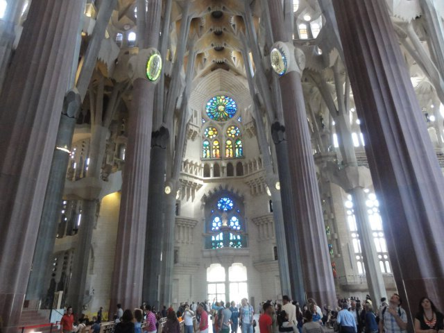 La Sagrada Famillia, Barcelona, Spain