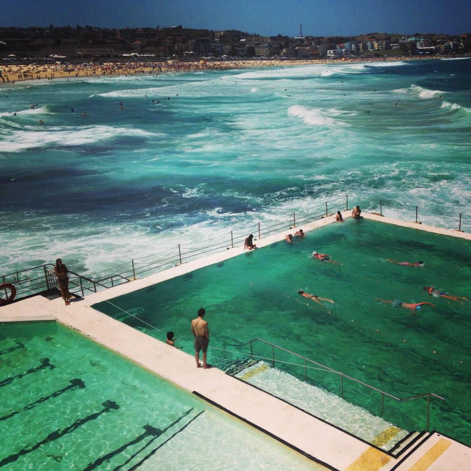 Ocean pool of Bondi Beach, Sydney.