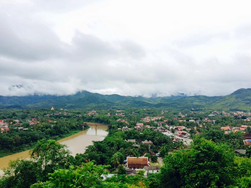 Views of the Mekong from Luang Probang