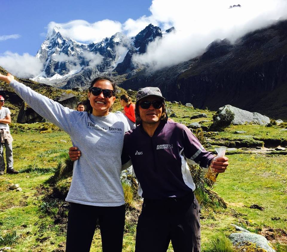 Edgar and me - my guide during the Santa Cruz Trek. One of the most incredible experiences of my life