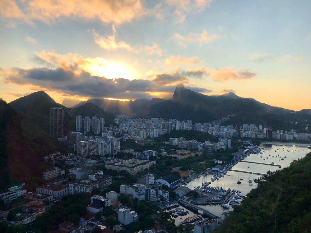 View from the top of Sugarloaf Mountain - Rio