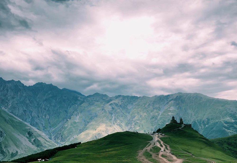 Gergeti Trinity Monastery