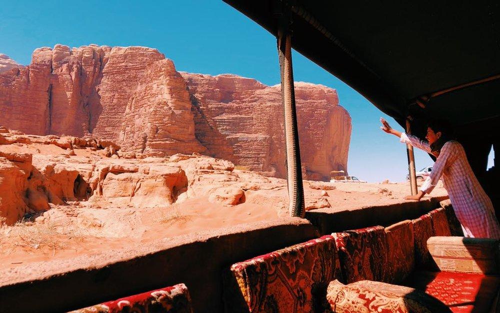 Locals in Wadi Rum