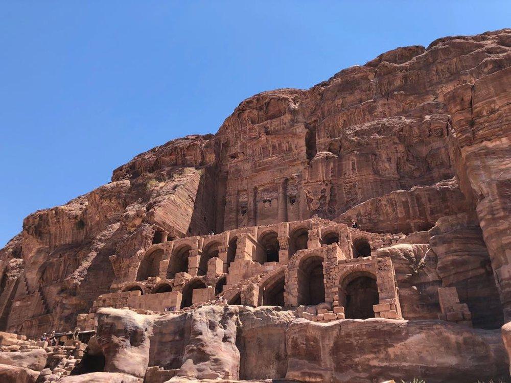 Facades in Petra