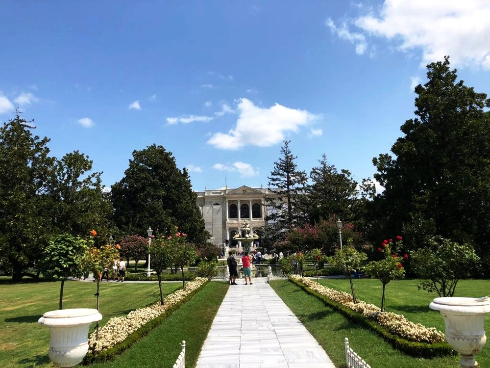 Dolmabahce Palace....better than Versailles. Yes that's right you heard it here