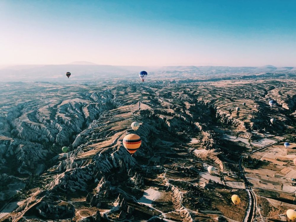 Ballooning over Cappadocia...dream come true