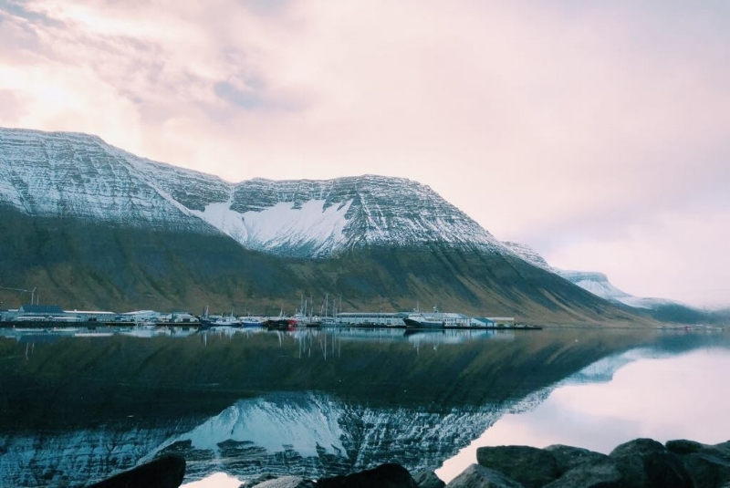 The small town of Isafjordur in Westfjords…gorgeous