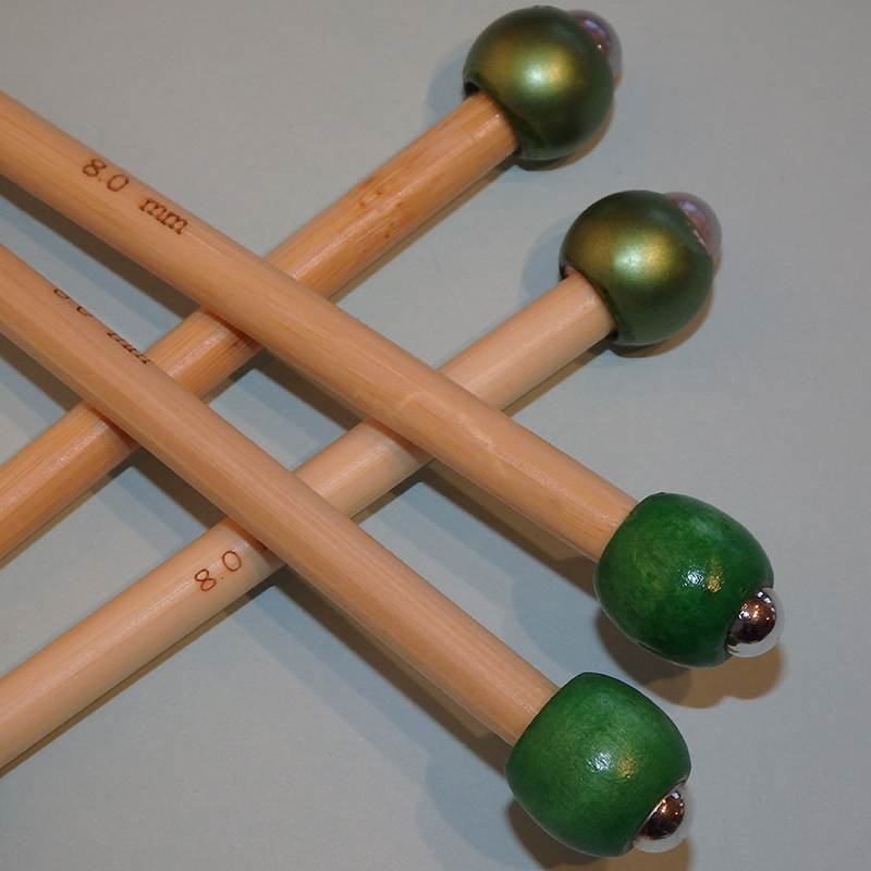 8.0mm Green Wood or Bauble