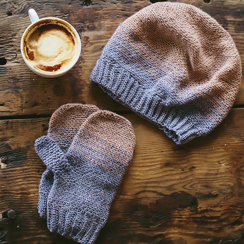 Tenbury hat and mittens