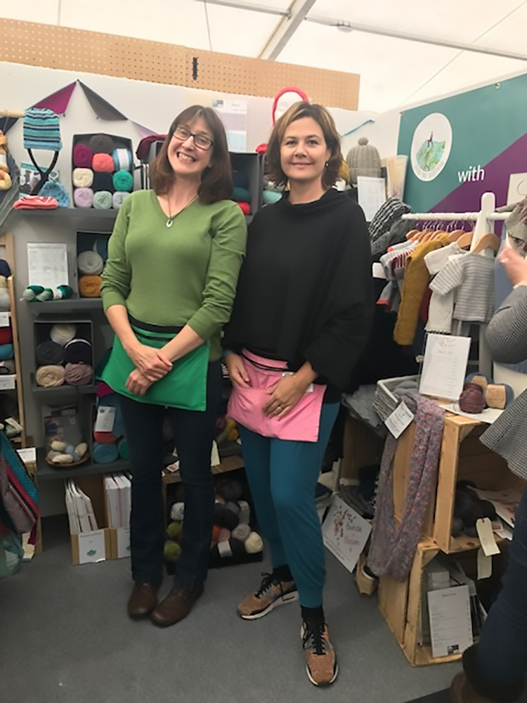 Deb & Abby at The Handmade Fair 2017
